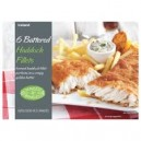 Iceland 6 Battered Haddock Fillets